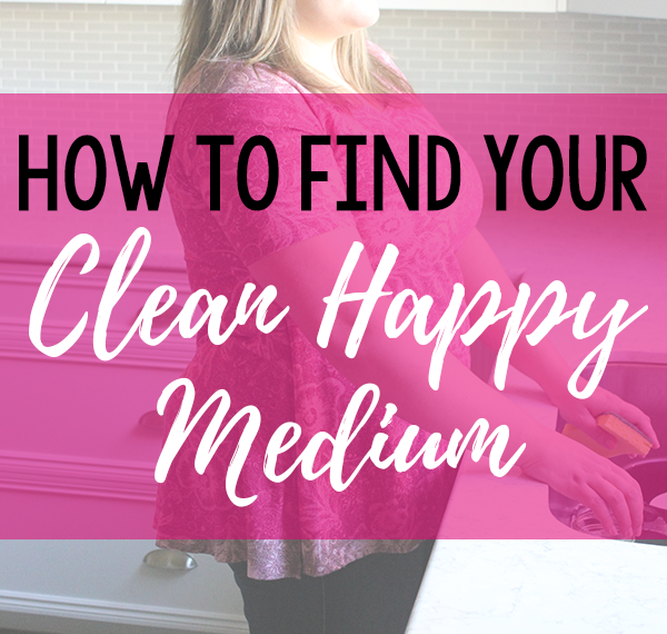 Sometimes it feels like I could spend my whole life cleaning. But where's the fun in that? So instead of being a slave to my house, I decided it was time to figure out my clean happy medium. Click to find out how to find yours and gain hours a week!