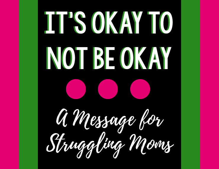 Mental health is such a tough topic to discuss, but it's also a very important one. Read some words of hope for moms who struggle with anxiety or depression.