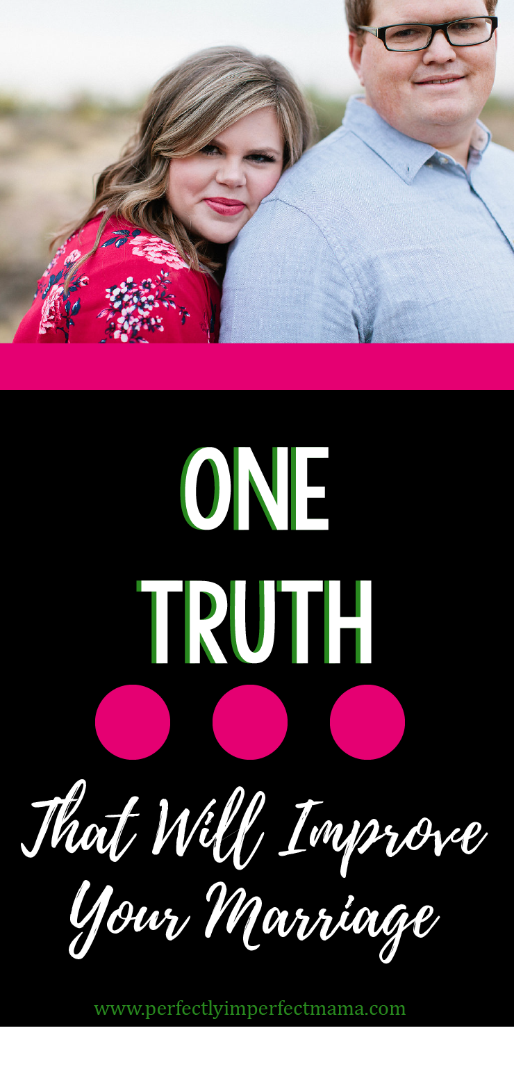 One of the biggest lessons I've learned over my 8.5 years of marriage centers all around expectations: the ones we have for ourselves and the ones we have for our spouse. There's one truth about expectations that changed everything for me. Read more here.