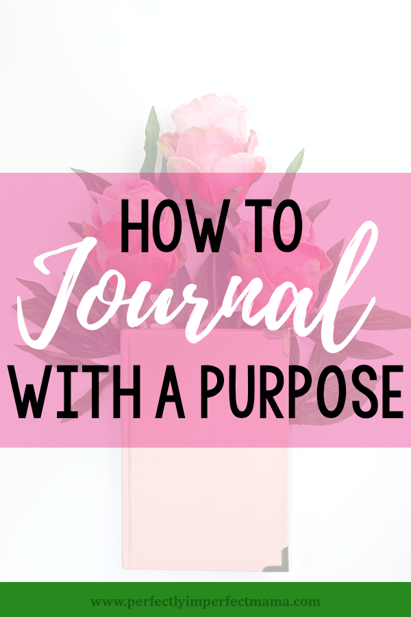 Journaling can seem overwhelming, but with a few small tweaks in your thinking process, journaling can have real purpose and meaning in your every day life.