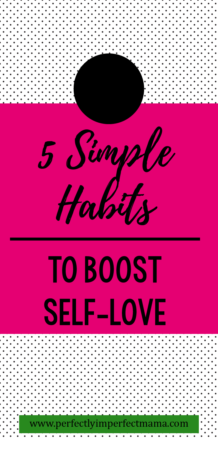 Self-love isn't something that comes naturally to me. It's a sad fact, but what's sadder is I don't think I'm in the minority here. But self-love is so important! If we don't love ourselves, we can't fully accept the love we receive from others. Here are 5 habits to help boost your self-love.