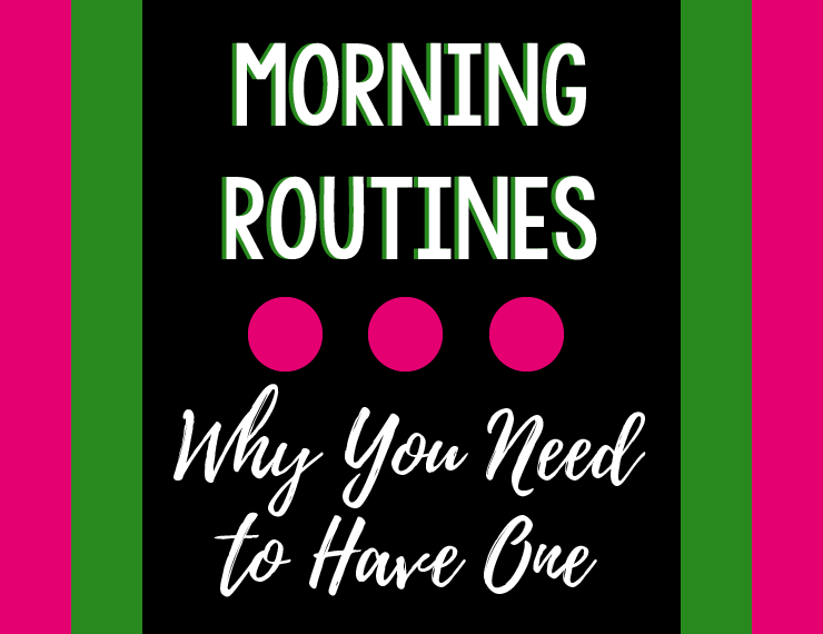 Waking up in the morning can be tough. Who wants to leave their warm bed to start working, cleaning, cooking, etc.? Turns out, the secret to jumping out of bed in the morning has to do with your morning routine.