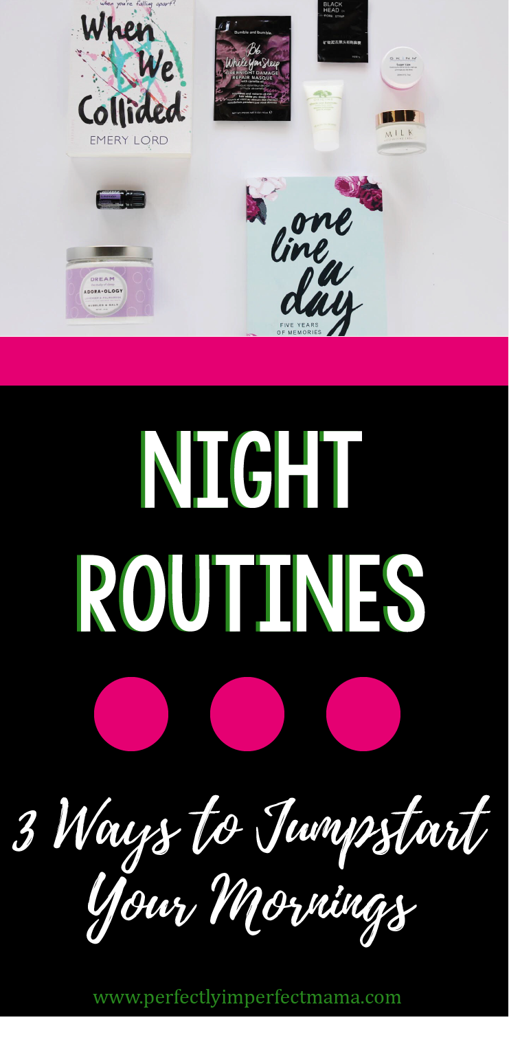 If you want to have a productive and successful day, you need to first create a night routine. Adding these 3 steps to your night will ensure you start the next day off right.