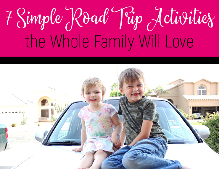 With summer comes road trips, but sometimes the last thing you want is to be stuck in a car with your kids for hours on end. I get it. It's hard! But here are 7 simple activities to do in the car that will help make road trips a fun bonding experience for the whole family.