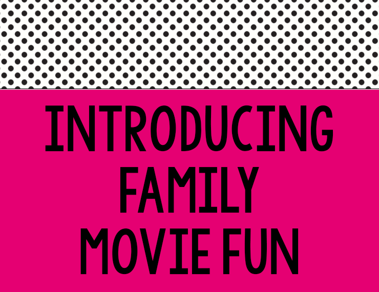 Family movie nights can be a great, easy way to spend some time together. I used to love putting together super fun nights filled with crafts, games, and a themed meal all corresponding to the movie of the night. But that got old (AKA overwhelming) quick. So I came up with a solution: Family Movie Fun. Read on to see what it is and how you can join in!