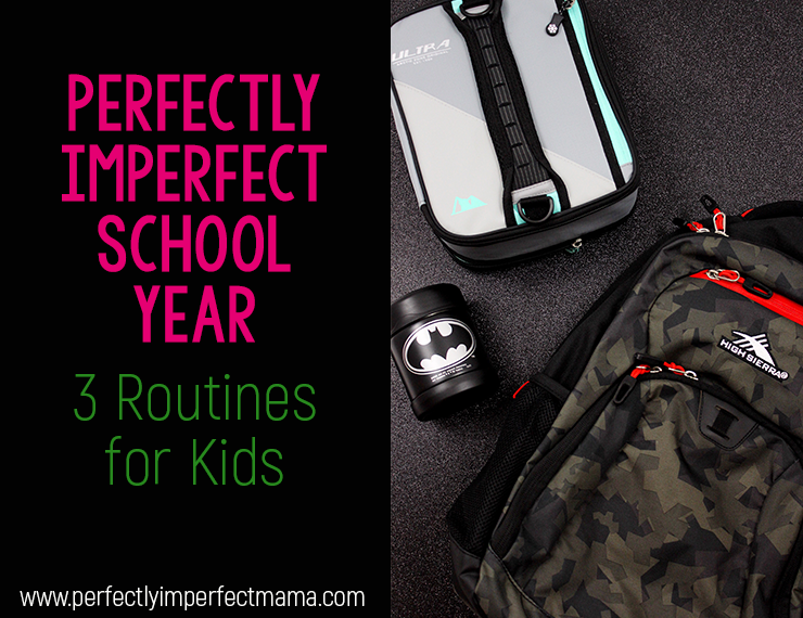 Routines are key in helping kids learn to become responsible, productive adults. With the school year fast approaching, here are three routines for kids to keep your life running smoothly. #routines #backtoschool #routinesforkids #morningroutine #nightroutine #afterschoolroutine