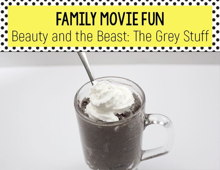 "Beauty and the Beast is a classic film from a classic fairy tale. Watch it with your kids, then enjoy ""The Grey Stuff"" as a delicious post-movie Family Movie Fun dessert."