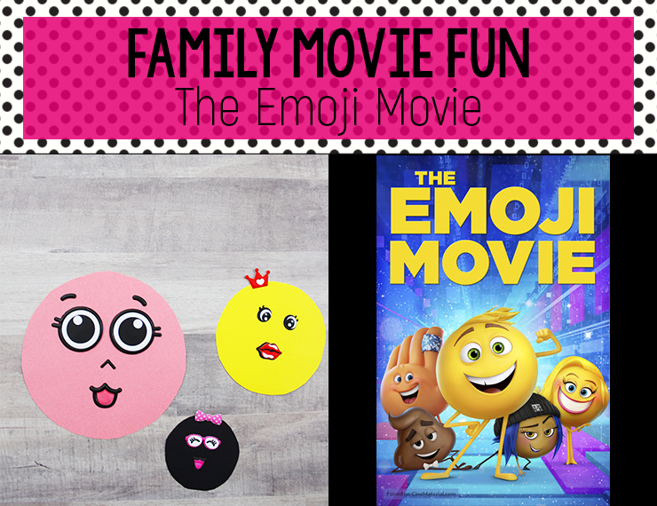 Help your kids create this cute and easy emoji craft, then watch The Emoji Movie for a fun family movie night! #theemojimovie #kidscraft #crafts #craftsforkids #familymovienight #familyfun