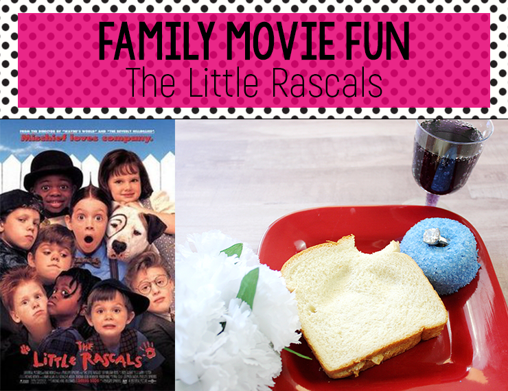 Remember the iconic date-gone-wrong scene between Darla and Alfalfa in The Little Rascals? Recreate it with your kids as a fun Family Movie Fun activity with your kids!